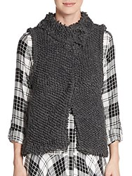 Sam Edelman Cameron Knit Vest Steel Grey