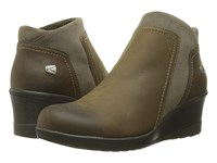 Keen Wedge Zip Brindle Women's Wedge Shoes Brown