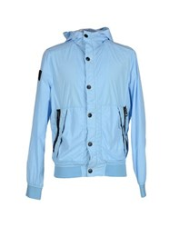 Fred Mello Coats And Jackets Jackets Men Sky Blue