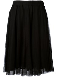 Essentiel Antwerp Layered Skirt Women Polyamide Viscose 40 Black