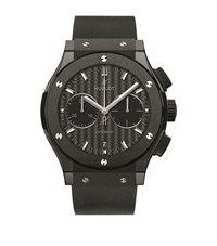 Hublot Classic Fusion 45Mm Black Magic Ceramic Watch Unisex
