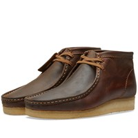 Clarks Originals Wallabee Boot Brown