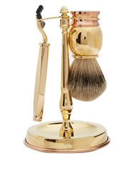 Dunhill Gold Plated Shaving Set