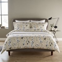 Christy Minnie Duvet Set Indigo Neutral