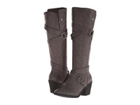 Blowfish Snaps Grey Texas Pu Women's Pull On Boots Gray
