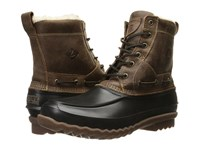 Sperry Decoy Shearling Boot Brown Men's Lace Up Boots
