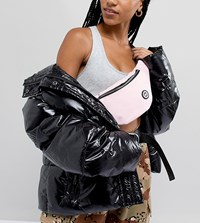 Hype Pink Fanny Pack With Oversized Tassel Pink