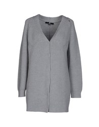 Elisabetta Franchi Cardigans Light Grey