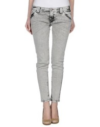 Jcolor Denim Pants Grey