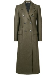 Tonello Double Breasted Jacket Coat Green