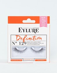 Eylure Definition 129 False Eyelashes Definition 129 Black