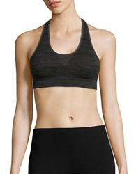 Jockey Seamfree Sporties Racerback Bra Smoke Grey