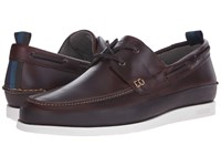 Paul Smith Jeans Branca Scotch Boat Shoes Brown