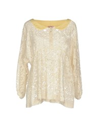 Rose' A Pois Blouses Ivory