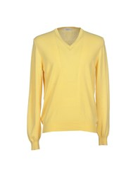 Gran Sasso Knitwear Jumpers Men Yellow