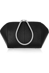Alexander Wang Chastity Elaphe And Leather Cosmetics Case