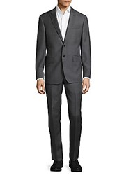 Todd Snyder Buttoned Wool Suit Medium Grey