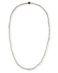 Stephen Dweck Small Baroque Pearl Necklace 34 Silver