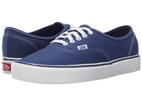 Vans Authentic Lite Canvas Stv Navy Men's Skate Shoes Blue
