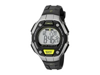 Timex Ironman Classic 50 Mid Size Black Silver Tone Yellow Watches