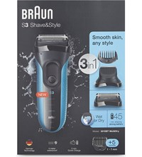 Braun S3 Shave And Style 3 In 1