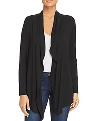 Marc New York Performance Lightweight Open Flyaway Cardigan Black