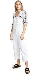 Ayr The Rec Room Overalls White