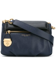 Marc Jacobs Front Pocket Cross Body Bag Blue