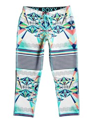 Roxy Stay On Capri Pant Multi Bright Multi Bright
