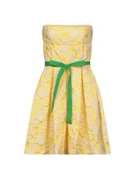 Imperial Star Short Dresses Yellow