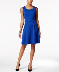 Ny Collection Petite Fit And Flare Dress Surf The Web