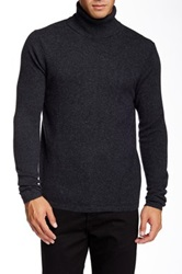 Quinn Keith Cashmere Turtle Neck Gray