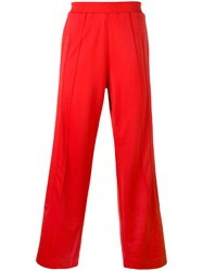 Givenchy Relaxed Jogging Trousers Red