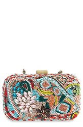 Natasha Couture Beaded Clutch