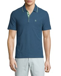 Penguin Mearl Slim Fit Polo Shirt Dark Denim
