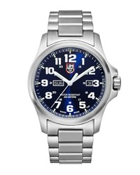 Luminox Field Bracelet Watch Silver