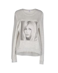 Brigitte Bardot Topwear Sweatshirts Women Light Grey