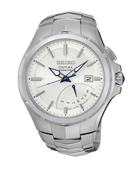 Seiko Mens Silvertone Coutura Watch
