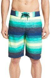 Under Armour Men's 'Reblek Ua Storm' Water Repellent Board Shorts Green Thai Teal Fug