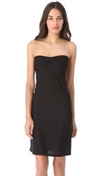 Only Hearts Club Second Skins Strapless Slip Black