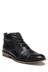 Steve Madden Keepon High Top Boot Black Leat