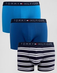Tommy Hilfiger Icon Trunks In 3 Pack Multi