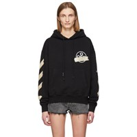 Off White Black Tape Arrows Over Hoodie