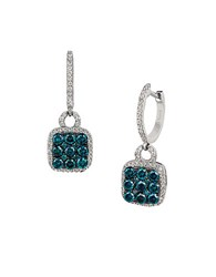 Le Vian Exotics Vanila Diamond Blueberry Diamond And 14K Vanilla Gold Drop Earrings