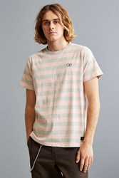 Lazy Oaf Grey Pink Stripe Tee