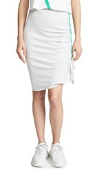 Evidnt Shirred Skirt Heather Grey