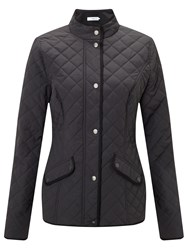 John Lewis Quilted Jacket Charcoal