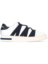 Paloma Barcelo Laterals Straps Sneakers White