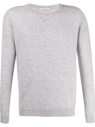 Laneus Crew Neck Cashmere Sweater Grey