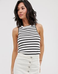 Free People Fired Up Stripe Tank Top Multi